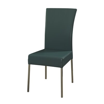 Cameo Parsons Chair Upholstery: Teal