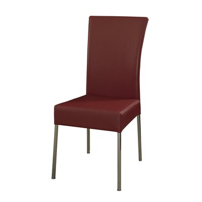 Cameo Parsons Chair Upholstery: Red