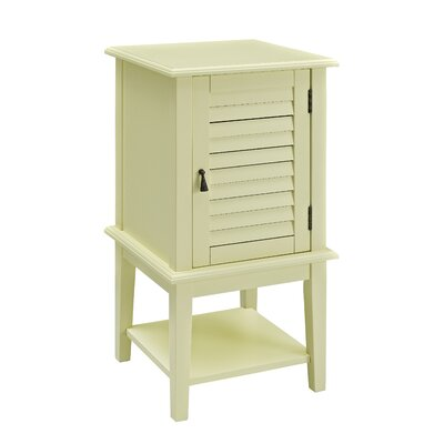 Shutter End Table Finish: Buttercup Yellow
