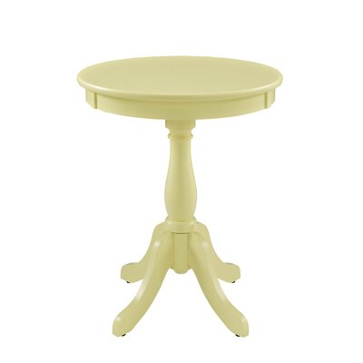 Tolliver End Table Color: Buttercup Yellow