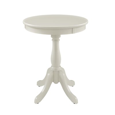 Tolliver End Table Color: White