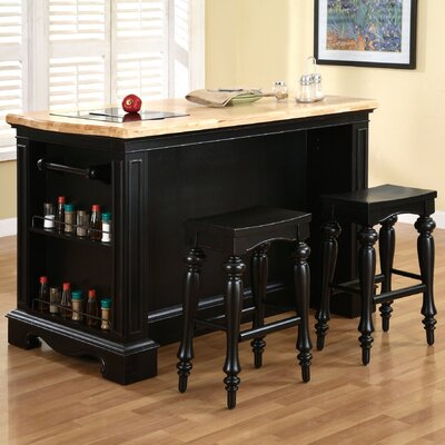 Pennfield Kitchen Island Set