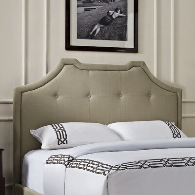 Crown King Upholstered Panel Headboard