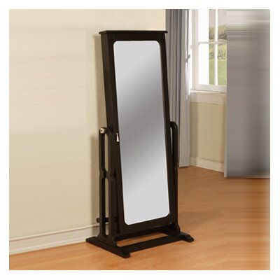 With Full Length Wall Mirror Storage : Full Length Wall Mirror With Jewelry Storage Inside