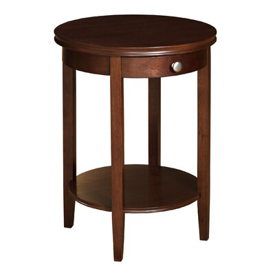 Constantine End Table With Storage
