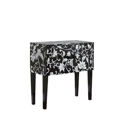 Cheap Powell Console with Straight Legs in Black (PW4599)