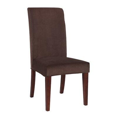 Velvet Slip Cover Upholstery: Mink Brown
