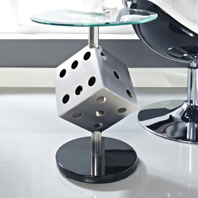 Easy financing Snake Eyes End Table...