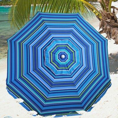 8 Fiberglass Beach Umbrella