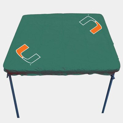 NCAA Card Table Cover NCAA Team: Miami