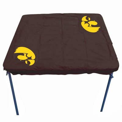 NCAA Card Table Cover NCAA Team: Iowa