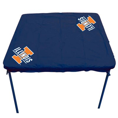 NCAA Card Table Cover NCAA Team: Illinois