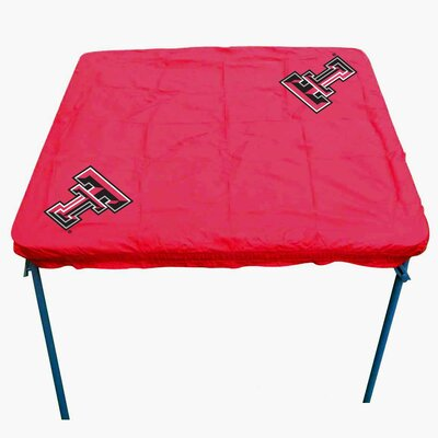 NCAA Card Table Cover NCAA Team: Texas Tech