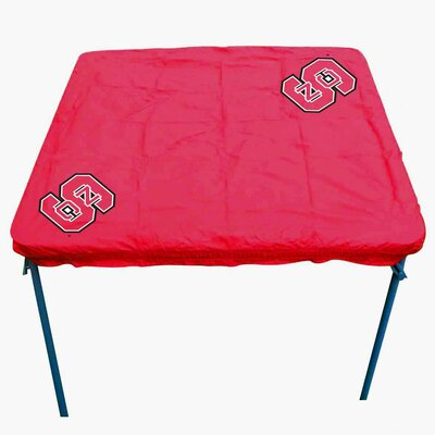 NCAA Card Table Cover NCAA Team: North Carolina State