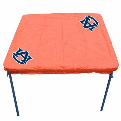 NCAA Card Table Cover NCAA Team: Auburn