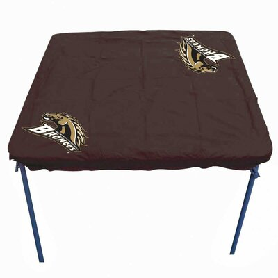 NCAA Card Table Cover NCAA Team: Western Michigan