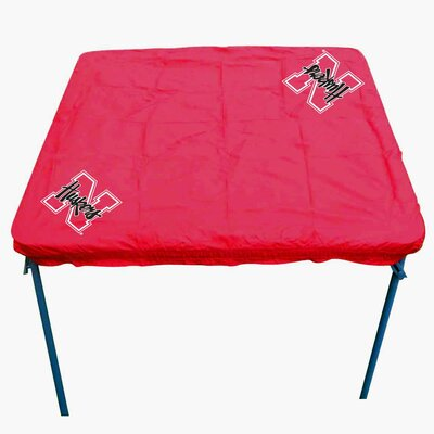 NCAA Card Table Cover NCAA Team: Nebraska