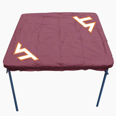 NCAA Card Table Cover NCAA Team: Virginia Tech