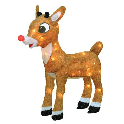 Rudolph the Red Nosed Reindeer Christmas Decoration with Lights 60538