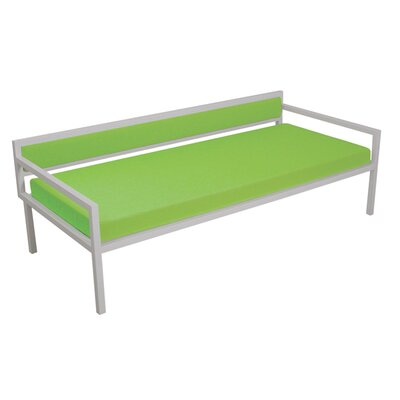 Talt Sofa  with Cushions Finish: Powder Coated Steel, Fabric: Lime