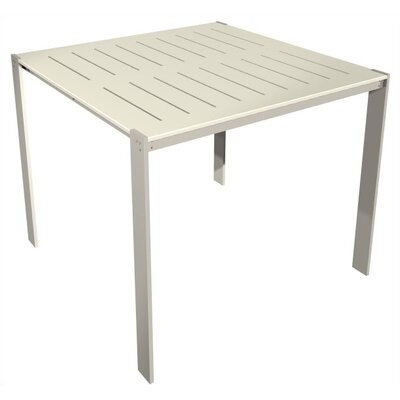 Luma Bar Table Table Size: 34x96, Top Finish: Sand Shade Polyboard