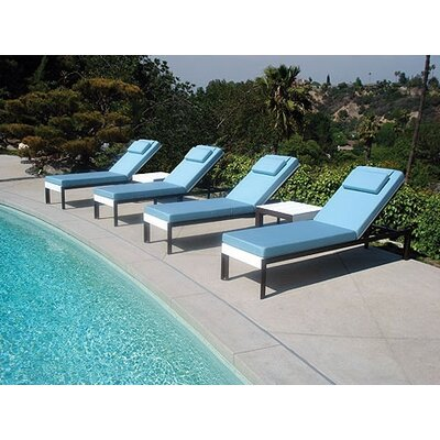 Information about Reclining Chaise Lounge Cushion Product Photo