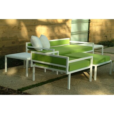 Talt Low 5 Piece Deep Seating Group with cushions