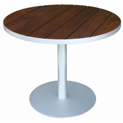 Luma Bistro Table Top Finish: Ipe, Table Size: 36