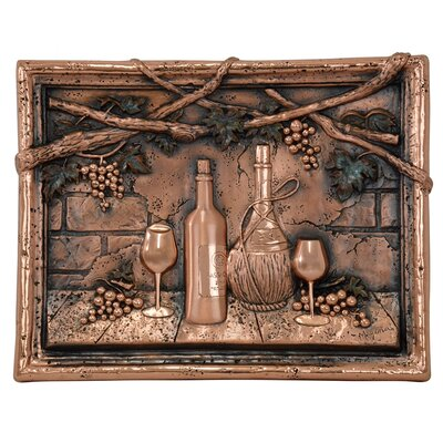 18.5 x 14 Wine Tasting Copper Mural/Backsplash
