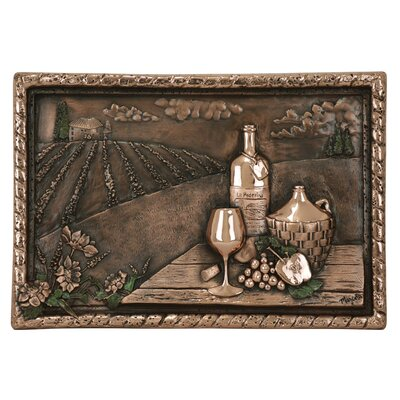 22 x 15 Vineyard View Copper Mural/Backsplash