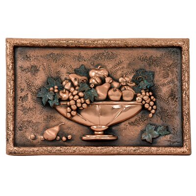 20 x 12.75 Italian Still Life Copper Mural/Backsplash