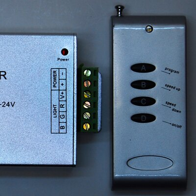 ITLED 4 Key RF Controller