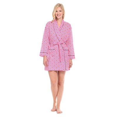 Hopi Cotton Short Robe Size: Medium