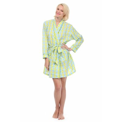Penny Robe Size: Small, Color: Yellow