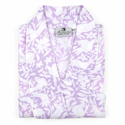 Otomi Sateen Bathrobe Size: Medium