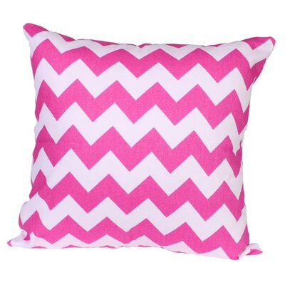 Lydia Pillow in Pink Size: 22 x 22