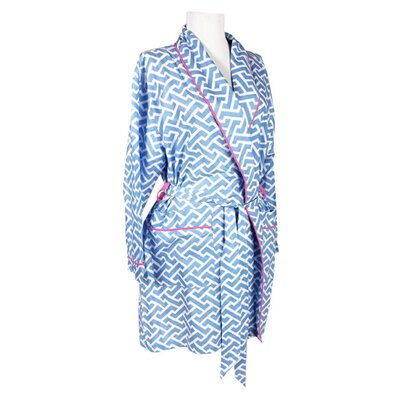 Brick Robe in Blue Size: Medium