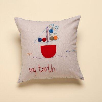 Jacaranda Living My Tooth Living Life Cotton Throw Pillow