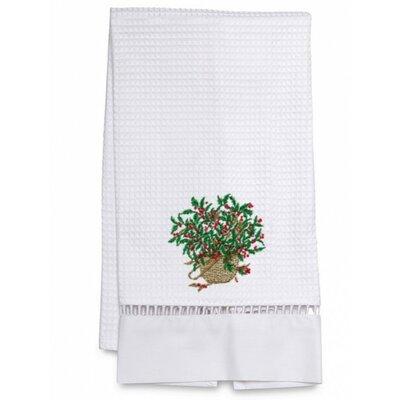 Jacaranda Living Waffle Weave Holly Basket Hand towel