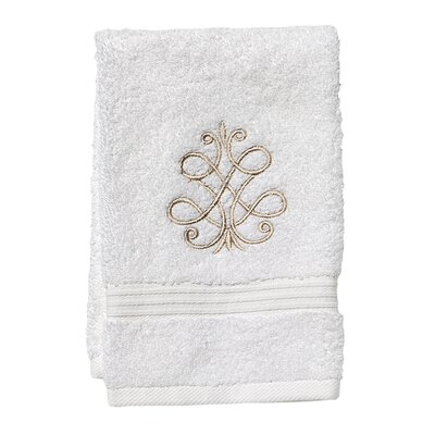 French Scroll Fingertip Towel
