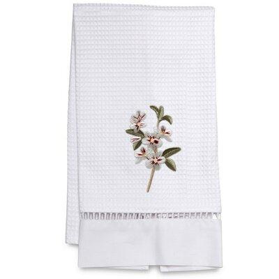 Waffle Weave Apple Blossom Hand Towel