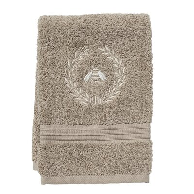 Terry Fingertip Towel Color: Taupe/ Beige