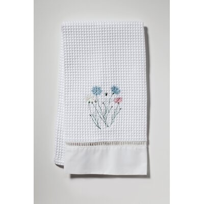 Wildflowers Topiary Trees Hand Towel