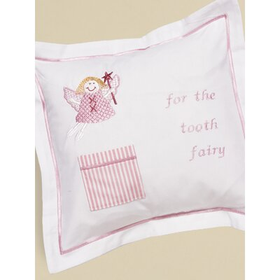 Jacaranda Living Funky Fairy Tooth Fairy Cotton Pillow Cover