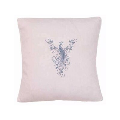 Jacaranda Living Peacock Throw Pillow