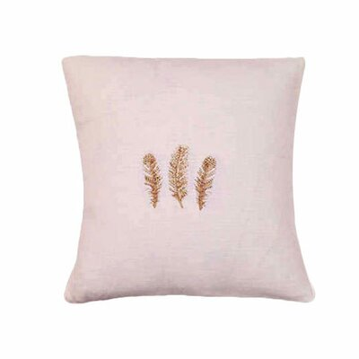 Jacaranda Living Feathers Throw Pillow