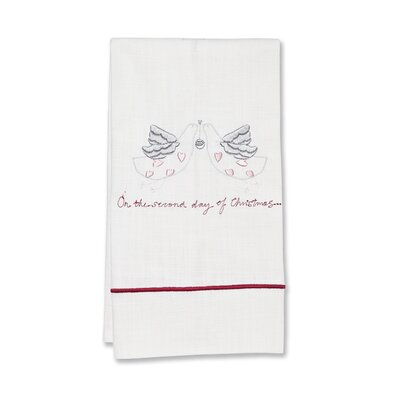 Second Day of Christmas Hand Towel
