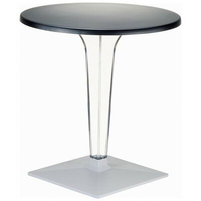 Ice Werzalit Dining Table Finish Black Table Size 32