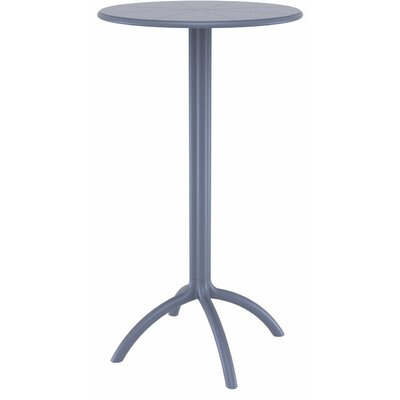 Octopus Bar Table Finish: Dark Gray