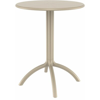 Octopus Bistro Table Finish: Dove Gray